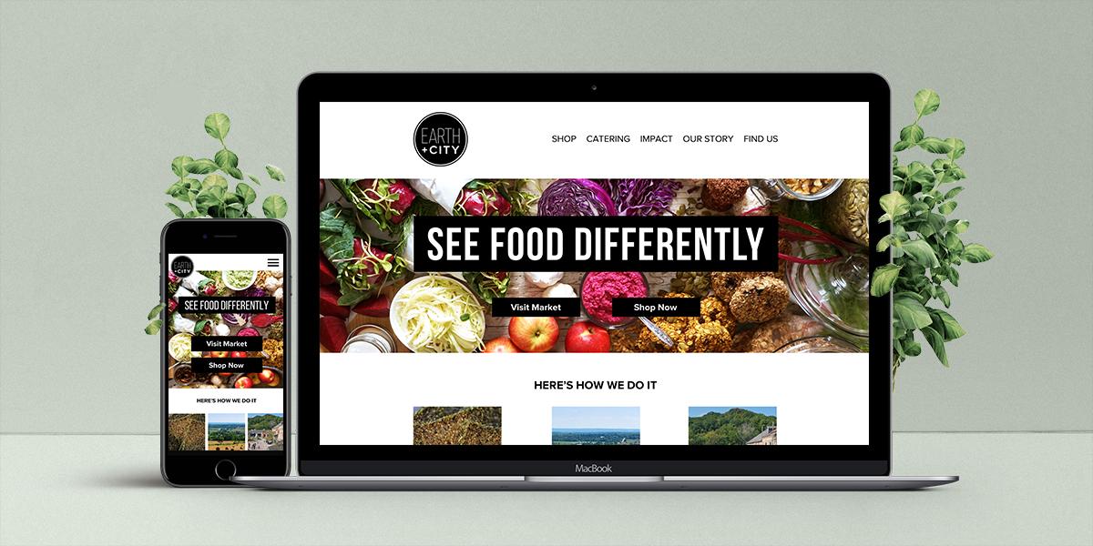 Good Food Website Re-Design