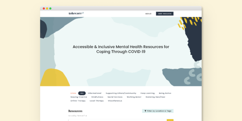 Accessible Mental Health During COVID